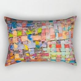 Paint Quilt Rectangular Pillow