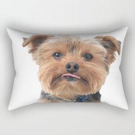 Meet My Yorkie | Nadia Bonello | Canada Rectangular Pillow