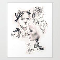 Gemma Ward Art Print