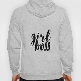Printable Poster,Girl Boss, Like A Boss, Girl Room Decor,Gift For Her,Girly,Inspiration,Office Decor Hoody