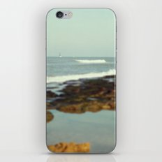 Boat in the sea iPhone & iPod Skin
