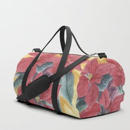 Poinsettia 2 Duffle Bag