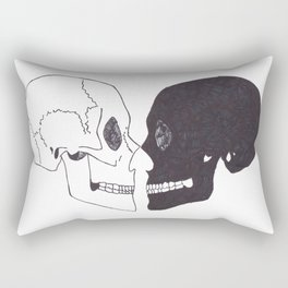 Heartshaped minds Rectangular Pillow