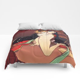 Geisha Doll Comforters