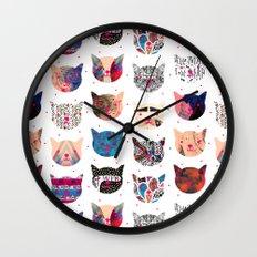 C.C. iii Wall Clock