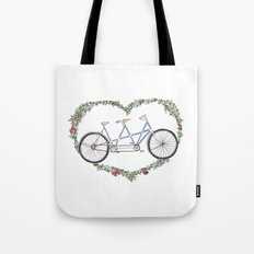 A bicycle made for two Tote Bag