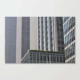 City Mosaic  Canvas Print