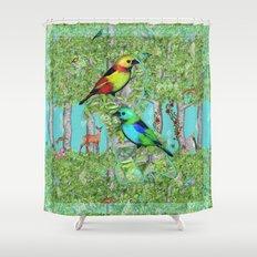 Forest Trip Shower Curtain