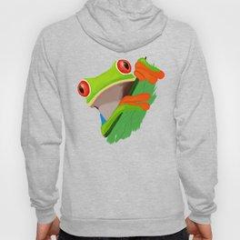 Red-eyed tree frog Hoody