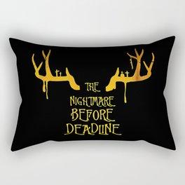 the nightmare Rectangular Pillow