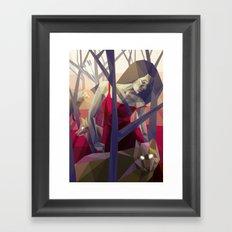 Of the hunt Framed Art Print