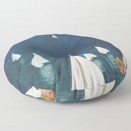Harbor Floor Pillow