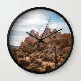 Joshua Tree National Park VIII Wall Clock