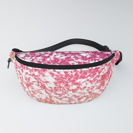 Terrazzo in pink, purple and yellow colors Fanny Pack