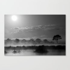 Old Autumn in the Misty Morn Canvas Print