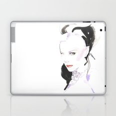 Fashion illustration in watercolors and ink Laptop & iPad Skin