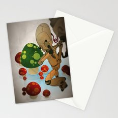 The pursuit of human soul Stationery Cards