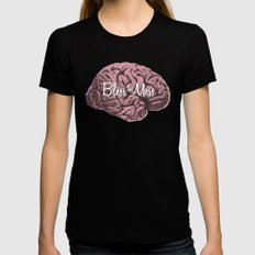 Bless this Mess. Womens Fitted Tee Black SMALL
