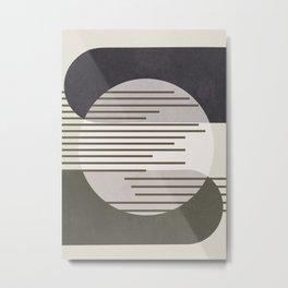 Abstract Geometric Art 50 Metal Print