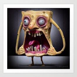 Spongebob Art Print