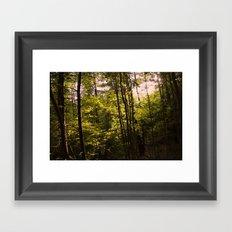 Reaching Through Framed Art Print