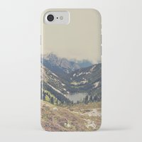 beach iPhone & iPod Cases featuring Mountain Flowers by Kurt Rahn