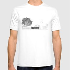 Tom's Favourite Spot —Angels Knoll Park, LA —(500) Days of Summer MEDIUM White Mens Fitted Tee