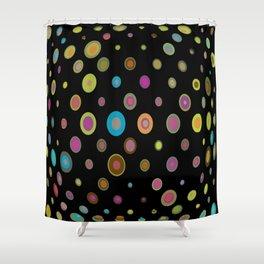 geometric universe Shower Curtain