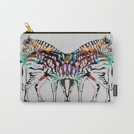 Zebra Illusion Carry-All Pouch
