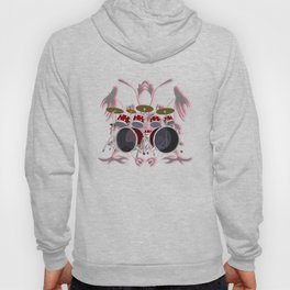 Drum Kit with Tribal Graphics Hoody
