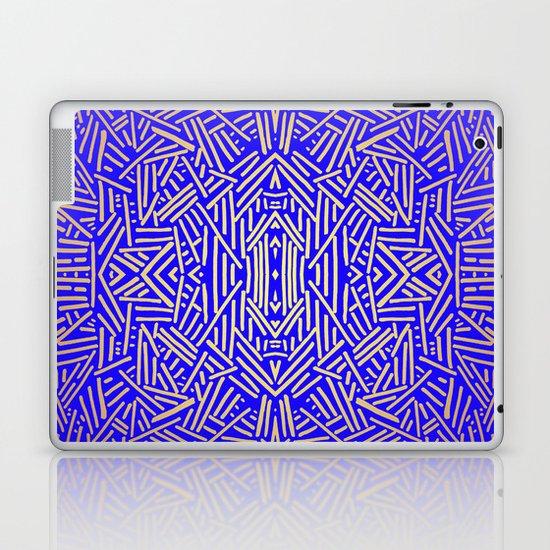 Radiate (Yellow/Ochre Royal) Laptop & iPad Skin