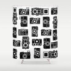 Yashica bundle Camera Shower Curtain