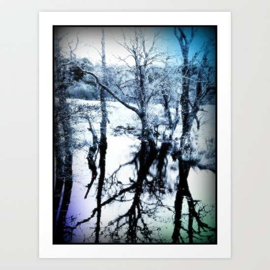 - Winter Reflections - Art Print