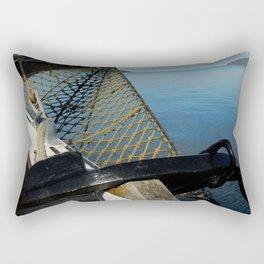 Sailing Through the Narrows Mull Scotland Rectangular Pillow