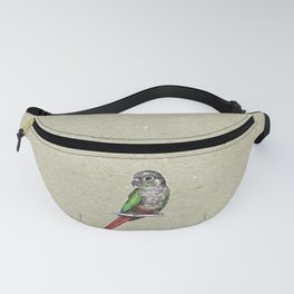 Green-cheeked conure Fanny Pack