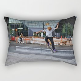 Mid-Air Flight Rectangular Pillow