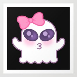 Cute Spooky Art Print