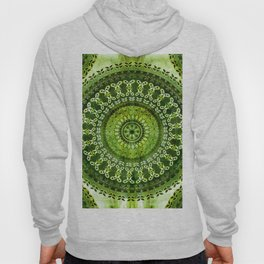 Vintage Lime Mandala Hoody