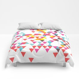 Tri Colour Series 7 by Eamon Donnelly Comforters