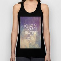 You Are So Beautiful... To Me Unisex Tank Top