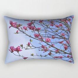 tulip magnolia Rectangular Pillow
