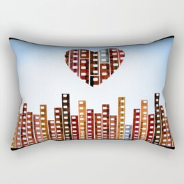 You Make This City Memorable Rectangular Pillow
