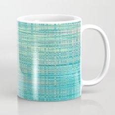 Abstract Blue Pastel Mug