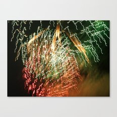 firelight Canvas Print