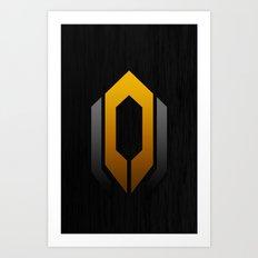 Mass Effect - Cerberus Art Print