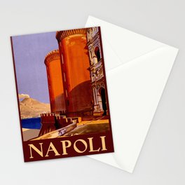 Napoli - Naples Italy Vintage Travel Stationery Cards