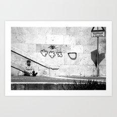 {Il Banchina} Art Print
