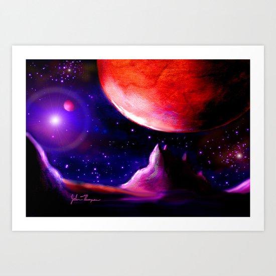 Another world 5 Art Print