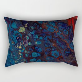Lake on Fire Rectangular Pillow
