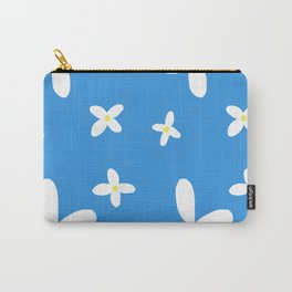 Classic Blue and White Flowers Carry-All Pouch